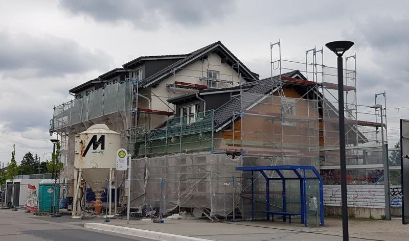 Baustelle Bahnhof Durmersheim