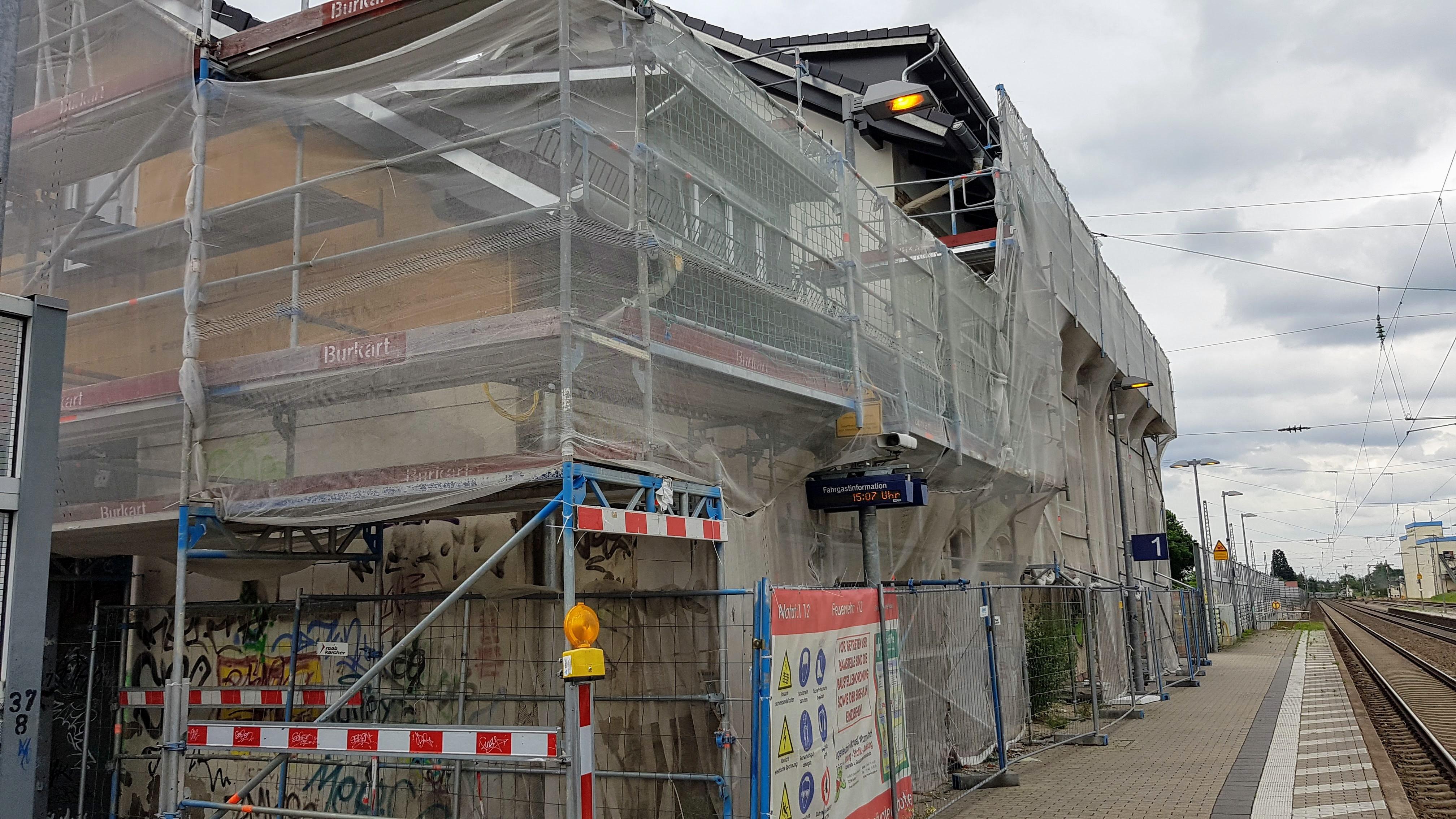 Veränderungssperre für Bahnhof Durmersheim