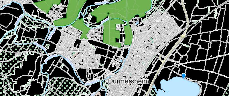Übersicht Landschaftsschutzgebiet Durmersheim